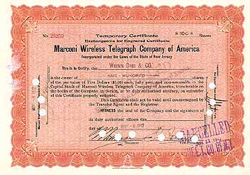 Marconi Wireless Telegraph Co. of America