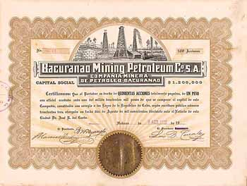 Bacuranao Mining Petroleum Co. S.A.