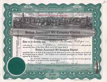 British Associated Oil Company Ltd.