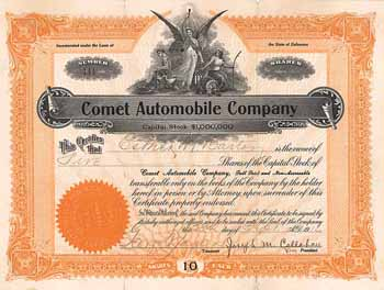 Comet Automobile Co.