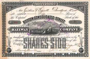 Boston Consolidated Street Railway