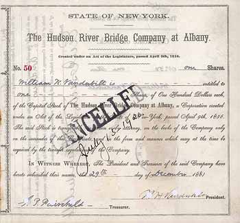 Hudson River Bridge Company at Albany
