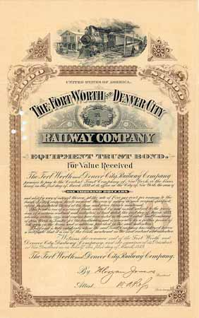 Fort Worth & Denver City Railway