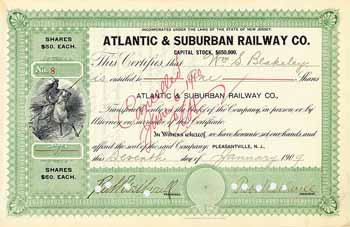 Atlantic & Suburban Railway