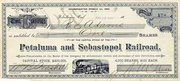 Petaluma and Sebastopol Railroad