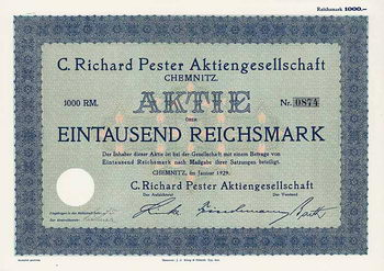C. Richard Pester AG