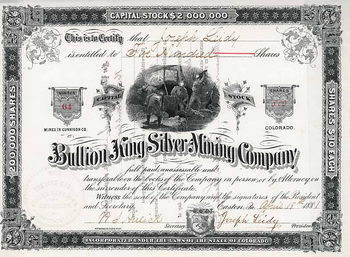Bullion King Silver Mining Co.
