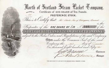 North of Scotland Steam Packet Co.