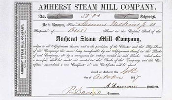 Amherst Steam Mill Co.