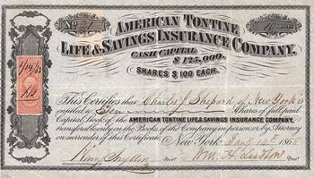 American Tontine Life & Savings Insurance Co.