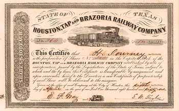Houston, Tap & Brazoria Railway