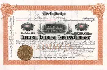 Electric Railroad Express