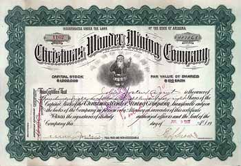Christmas Wonder Mining Co.