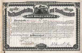 Chesapeake, Ohio and Southwestern Railroad Co.