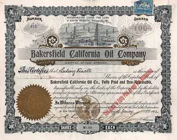 Bakersfield California Oil Co.