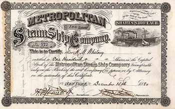 Metropolitan Steam Ship Co.