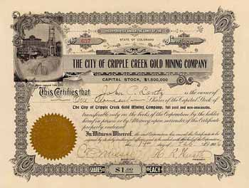 City of Cripple Creek Gold Mining Co.