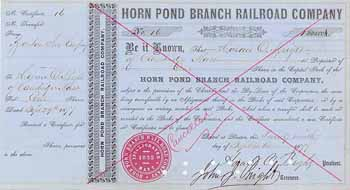 Horn Pond Branch Railroad