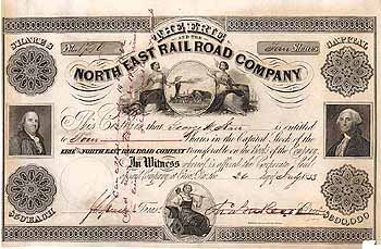 Erie & North East Railroad