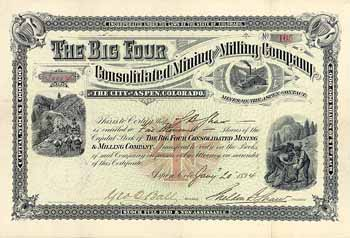 Big Four Consolidated Mining and Milling Co.