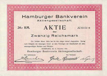 Hamburger Bankverein AG