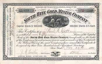 South Hite Gold Mining Co.