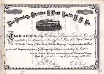 Cowley, Sumner & Fort Smith Railroad