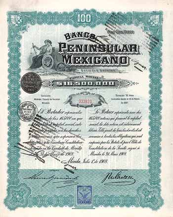 Banco Peninsular Mexicano S.A.