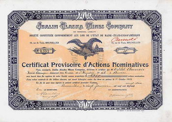Jualin Alaska Mines Co.