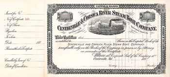 Centreville & Corsica River Steam Boat Co.