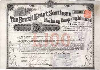 Brazil Great Southern Railway