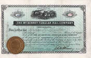 Mc. Kenney Tubular Rail Co.