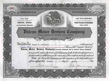 Vulcan Motor Devices Co.
