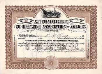 Automobile Co-Operative Ass. of America