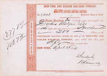 New York & Harlem Railroad