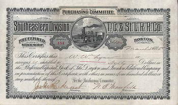 Dayton and Ironton Railroad - Southeastern Division T.C.& St.L.R.R.