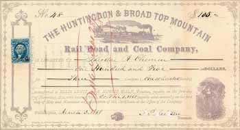 Huntingdon & Broad Top Mountain Railroad & Coal Co.