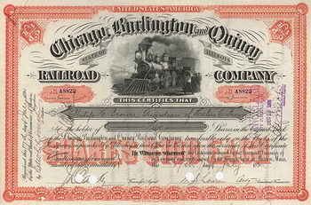 Chicago, Burlington & Quincy Railroad Co.