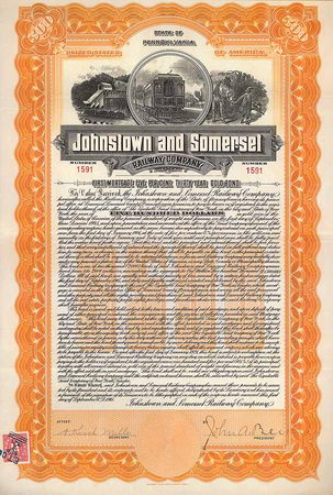 Johnstown & Somerset Railway
