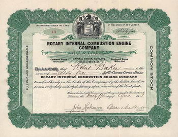 Rotary Internal Combustion Engine  Co.