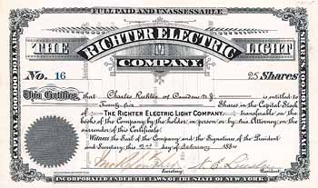 Richter Electric Light Co.