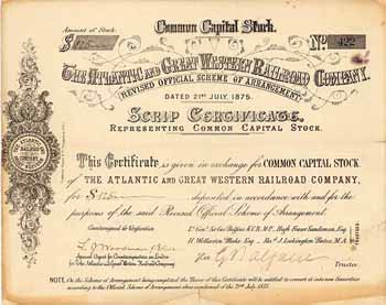 Atlantic & Great Western Railroad Co.