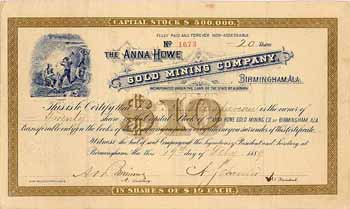 Anna Howe Gold Mining Co.