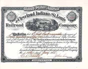 Cleveland, Indiana & St. Louis Railroad