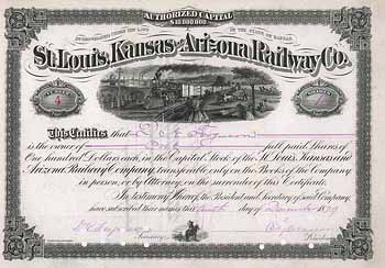 St. Louis, Kansas & Arizona Railway