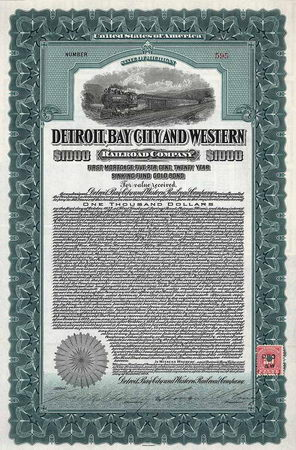 Detroit, Bay City & Western Railroad