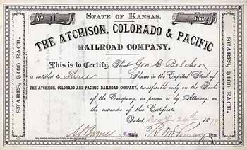 Atchison, Colorado & Pacific Railroad