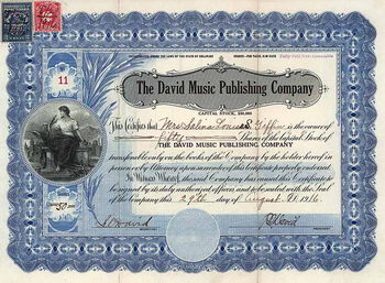 David Music Publishing Co.