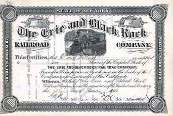 Erie & Black Rock Railroad