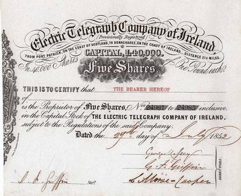 Electric Telegraph Company of Ireland
